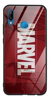 0mmarvel - P20 Lite - Luxo Marvel Vidro Temperado Para Huawe