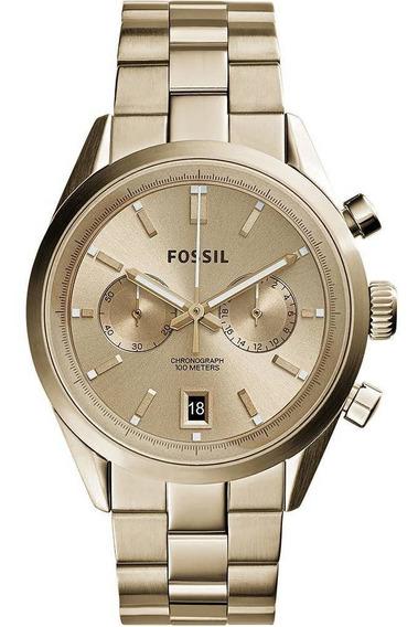 Relógio Fóssil Masculino Dourado Ch2993/4dn