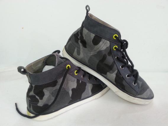 Zapatos Gomas Tipo Converse Para Niño - Talla 34 - 4 Usa