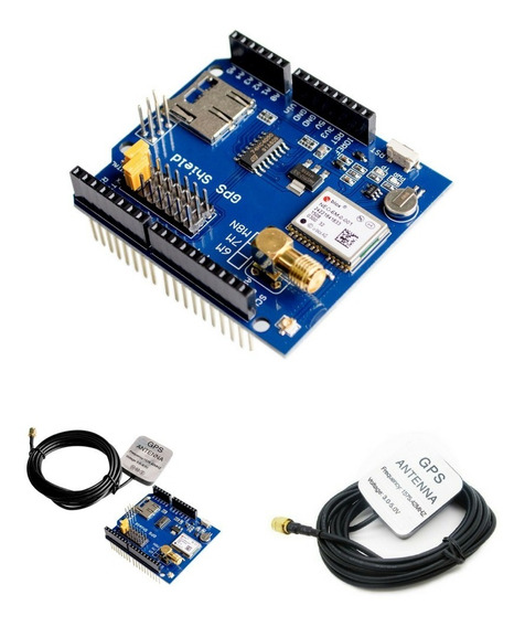 Modulo Arduino Shield Gps Neo6mv2 Com Antena 3mts *100213