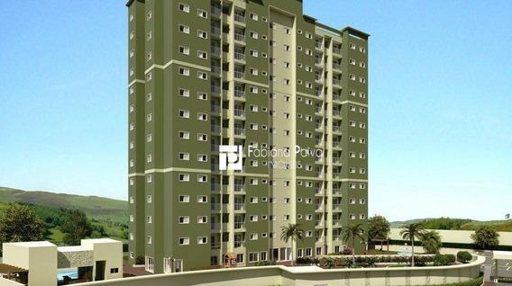 Apartamento Com 3 Dormitórios Para Alugar, 66 M² Por R$ 1.700/mês - Jordanópolis - Arujá/sp - Ap0029