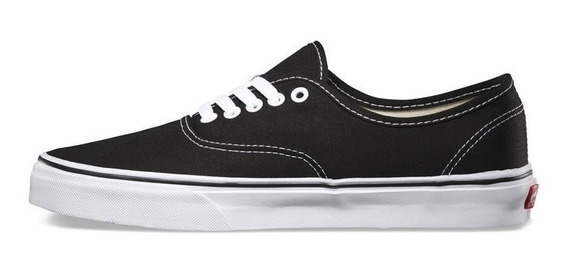 Vans Zapatilla Lifestyle Unisex Authentic Negro - Blanco