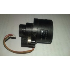 Lente Profissional Auto Iris 4mm / 9mm - Original Hdl