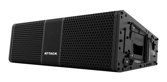 Caixa Line Array Attack Versa Red Vsl206 B Ampl.2x6+1dr
