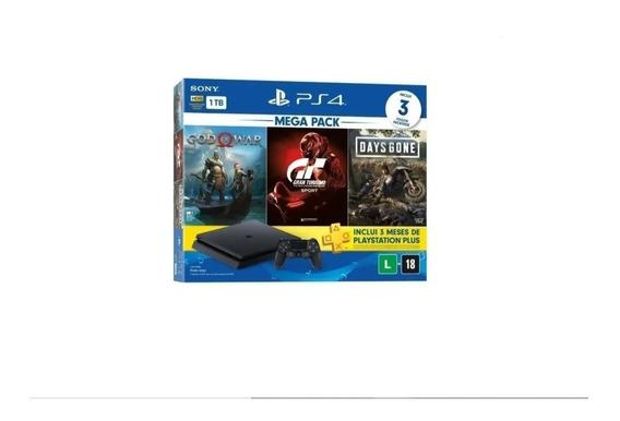 Console Ps4 1tb Com Game Of The Year 2018+2 Jogos-envio Hoje