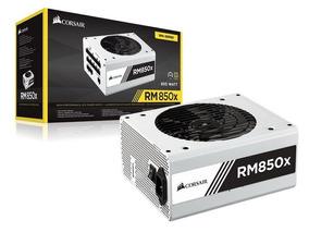 Fonte Corsair Rm850x White Modular 80 Plus Gold 850w