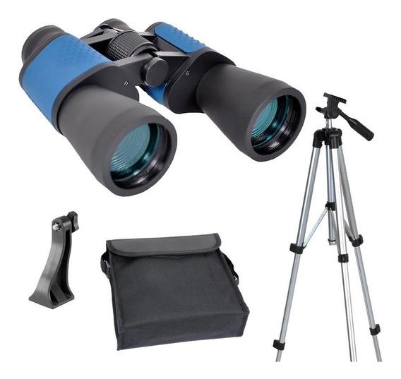 Binoculo Astronômico 10x50 Wa Ct + Tripé 36070 + Adaptador - Skylife Marca Especialista Em Produtos Astronômicos