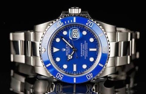 Rolex Submariner Date Ouro Branco 2014 - Aceito Troca