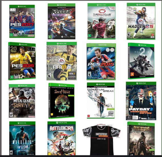 Jogos Xbox One Física Lacrado-r$ 59,99 Cada, Pronta Entrega!