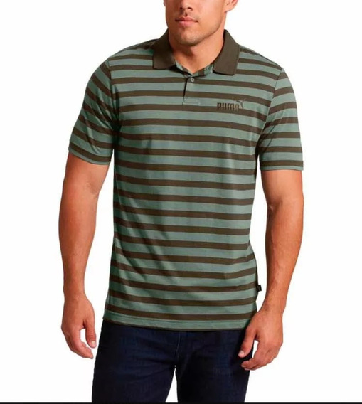 Playera Puma Polo Essentials Stripe J. Casual Caballero
