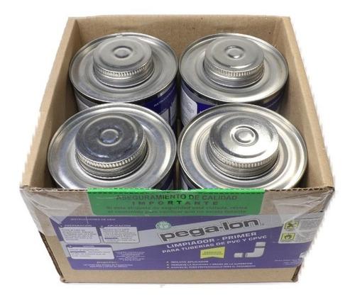 Imagen 1 de 3 de Pegalon - Limpiador Primer  2-en-1 , Caja Con 4 Botes De 500