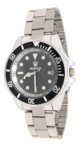Reloj Rolex Caballero Submariner C/ Calendario Estuche Envio