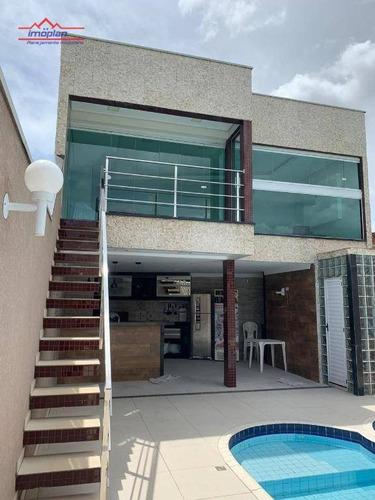 Imagem 1 de 29 de Casa Com 2 Dormitórios À Venda, 120 M² Por R$ 650.000,00 - Nova Cerejeira - Atibaia/sp - Ca4449