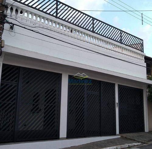 Sobrado Com 2 Dormitórios, 268 M² - Venda Por R$ 850.000,00 Ou Aluguel Por R$ 3.100,00/mês - Vila Prudente (zona Leste) - São Paulo/sp - So0462