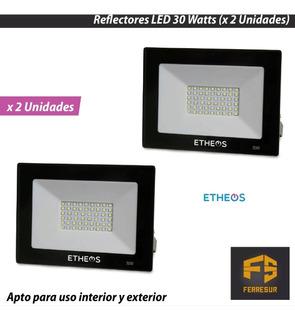 Reflector Led Proyector Etheos 30 Watts X 2 Unidades