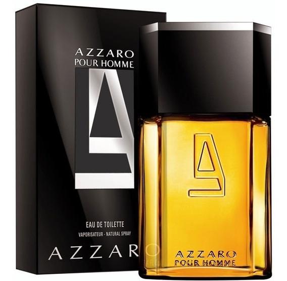 Perfume Azzaro Pour Homme Masc 100ml Original E Lacrado!