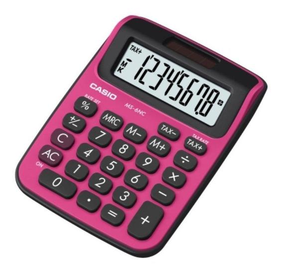 Calculadora De Escritorio Casio Ms-6nc