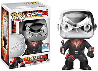 Funko Pop Destro G.i.joe Exclusivo Nycc 2017 Fall Convention