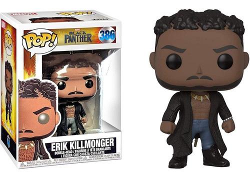 Funko Pop Original Pantera Negra Erik Killmonger #386