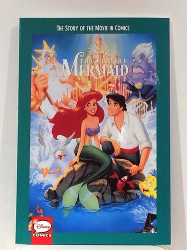 La Sirenita Libro Comic Oficial De Disney (nuevo)