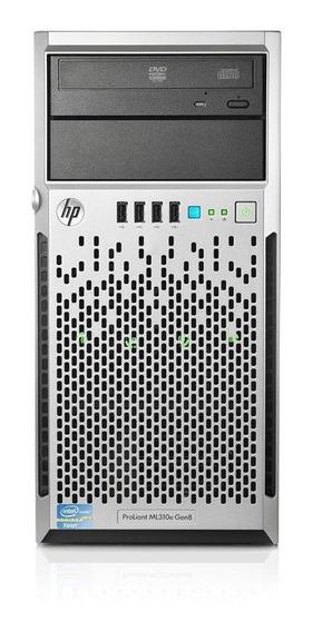 Servidor Hp Proliant Ml310e V2 8gb 2x Hd500gb Completo Novo!