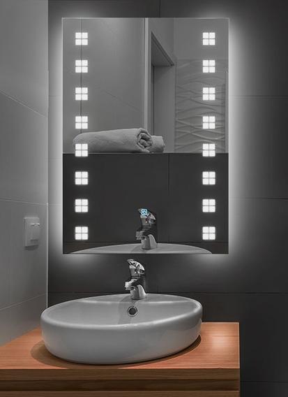 Lux Sany Xr-ld-2005 Espejo De Tocador 60x80 Luz Led Touche