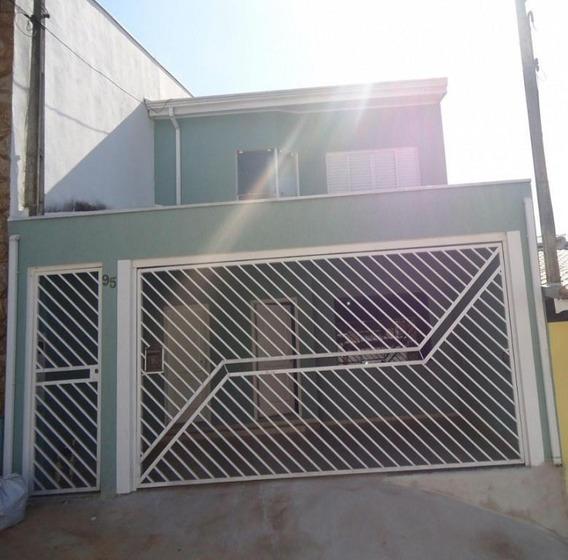 Sobrado Com 3 Dormitórios À Venda, 160 M² Por R$ 379.000 - Medeiros - Jundiaí/sp - So0017