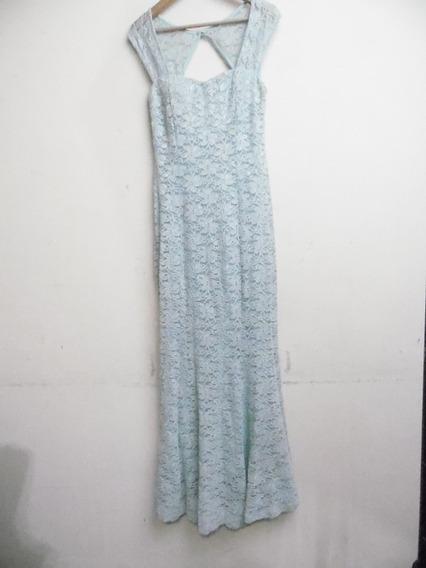 Vestido Estilo Corte Sirena Talla L Aproxim.70kg L112