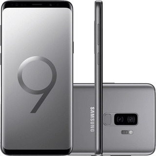 Samsung Galaxy S9+ G9650z 128gb 12mp 6.2 Prata Mancha Tela