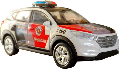 Imagem 1 de 8 de Miniatura Tucson Pmesp Polícia Militar - Em Metal
