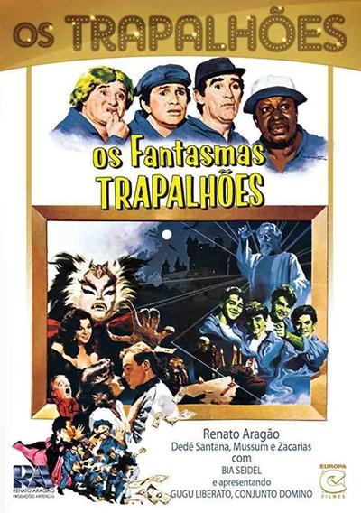 Os Fantasmas Trapalhões - Dvd - Renato Aragão - Carla Daniel