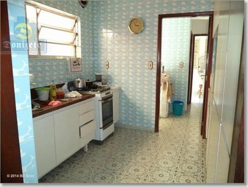 Sobrado Com 3 Dormitórios À Venda, 189 M² Por R$ 690.000,01 - Jardim - Santo André/sp - So1190