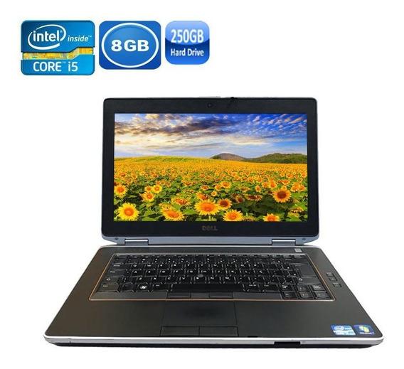 Notebook Dell E6420 Core I5-2520 8gb Hd250gb + Bateria Nova