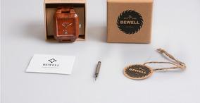 Relógio De Madeira Bewel Masculino 003
