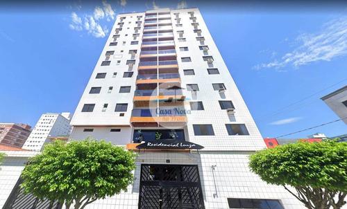 Imagem 1 de 18 de Apartamento À Venda No Bairro Tupi - Praia Grande/sp - 350