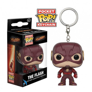 Funko Pop Llavero Keychain The Flash-minijuegos