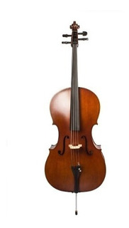 Violonchelo Cello Parquer Custom 4/4 Estudio Con Arco Funda