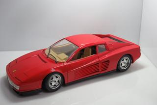 1:18 Miniatura Carro Ferrari Testarossa 1984 Vermelha