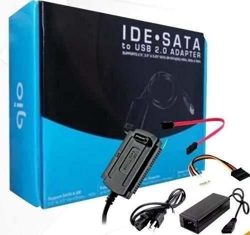 Adaptador Ide / Sata Disco Duro Pc Laptop A Cable Usb 2.0
