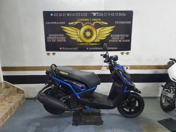 Yamaha Bws X 125 Mod 2017 Pap Nuevos Traspaso Incluido