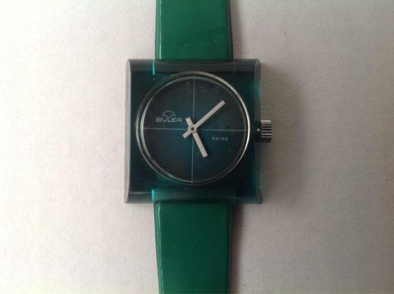Reloj Buler A Cuerda Original Años 70