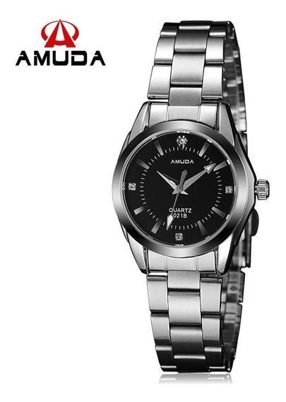 Relógio De Pulso Feminino Amuda