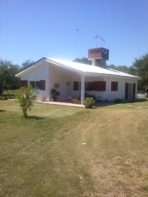 En Venta Campo Con 2 Casas + Tractor 35hp