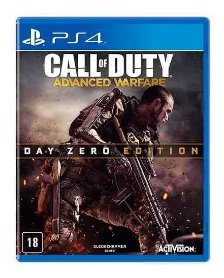 Call Of Duty Advanced Warfare Ps4 Mídia Física Semi Novo