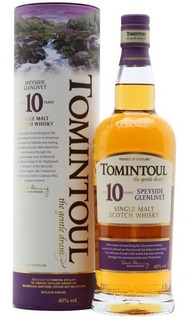 Whisky Tomintoul 10 Años De Litro Single Malt C/lata Escoces