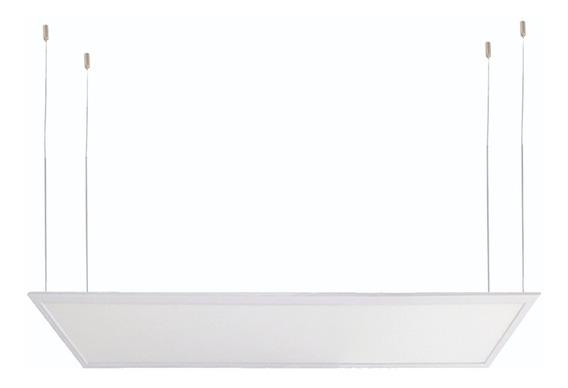Panel Led Colgante Blanco Mate 72w Luz De Día (60x120cm)