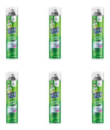 Domline Liso Clean Limpador De Uso Geral 300ml (kit C/06)