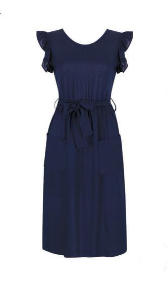 Vestido Marino 130-122 Rinna Primavera-verano 2020