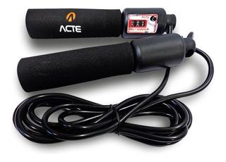 Corda Pular Pro Com Rolamento & Contador - Funcional Acte