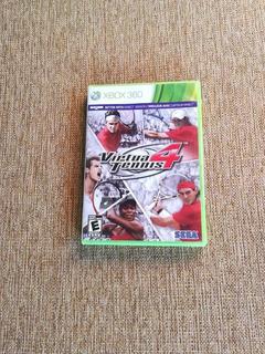 Virtua Tennis 4 Xbox 360. Envios A Todo Chile .